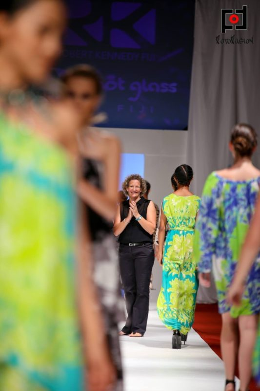 Hot Glass Fiji at Fiji Fashion Week 2013