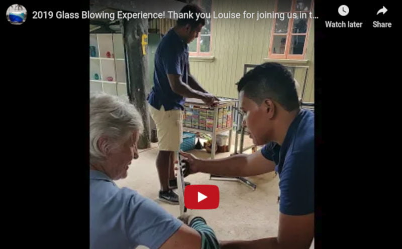 Louise-glass-blowing